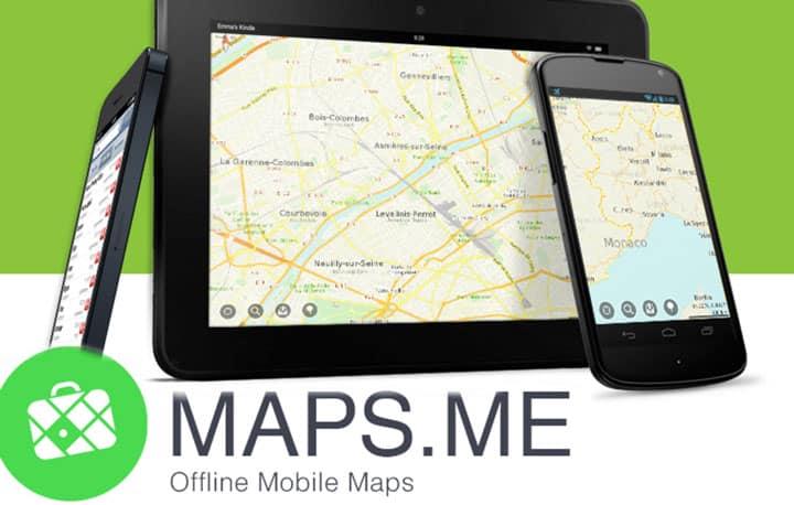 Путеводитель Maps Me