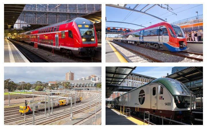 Региональные поезда в Европе