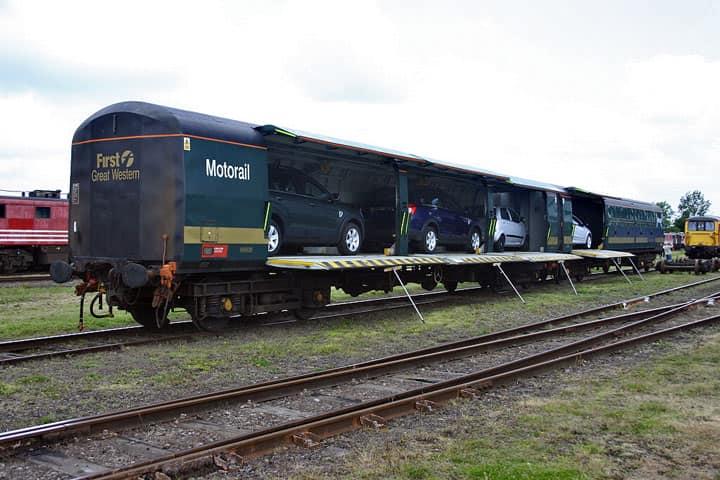 Поезд motorail в Европе