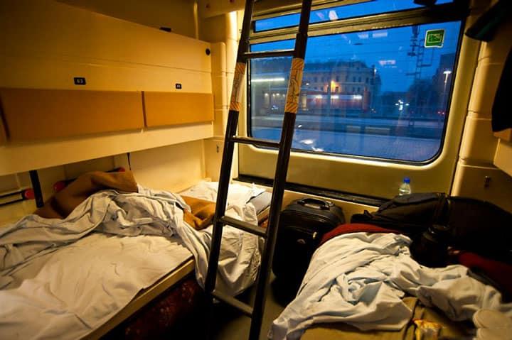 ночные спальные поезда в Европе