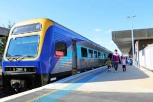 Поезд в Сиднее