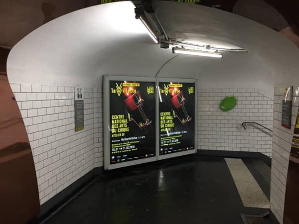 Переход в парижском метро