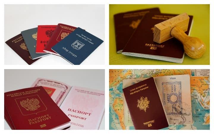 Россия паспорт