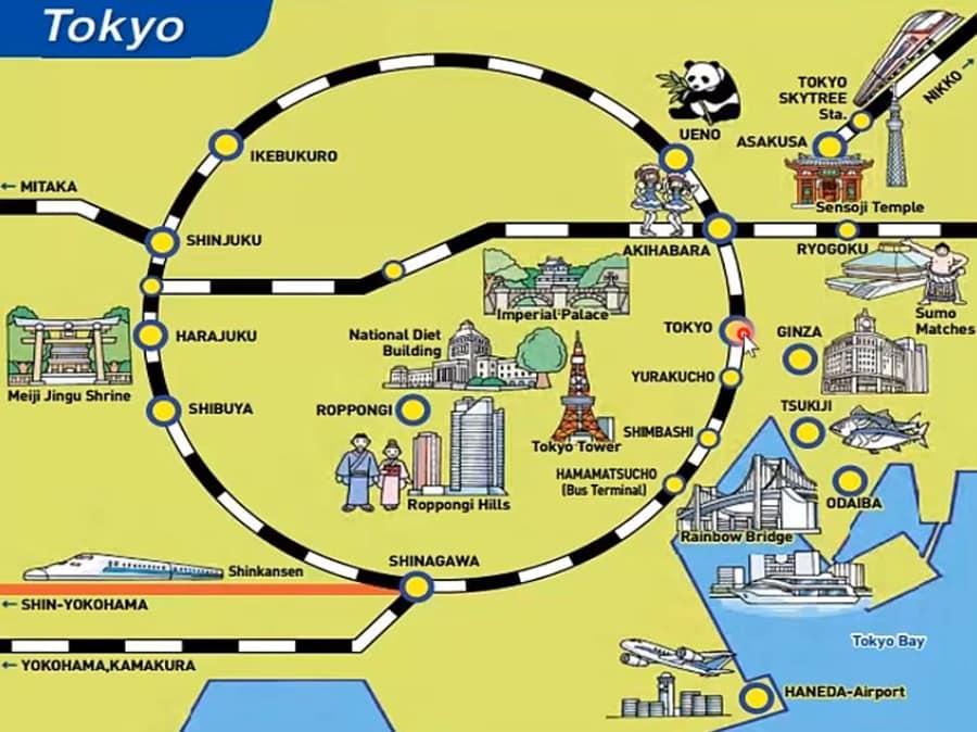 Yamanote Line Токио