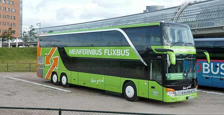 flixbus рейсовый автобус в Италии