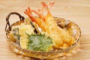 Tempura морепродукты в кляре