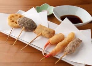 Kushiage японская закуска