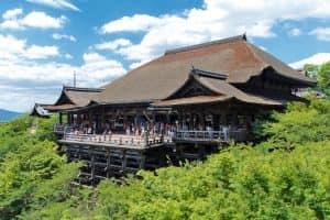 ХрамКиёмидзу-дэра в Киото