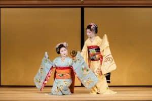 Выступление гейши в Киото