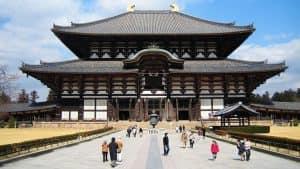 Todaiji Temple храм в Нара