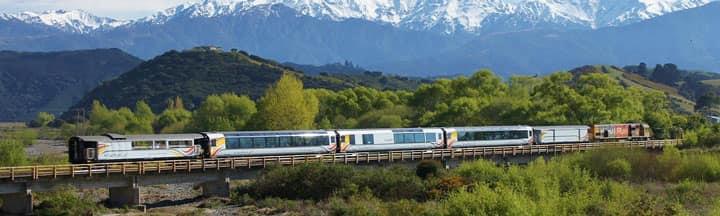Поезд в Новой Зеландии