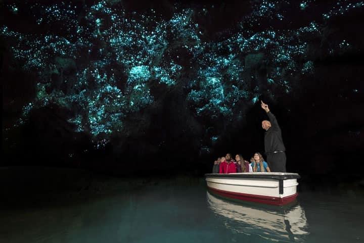 Пещеры Waitomo