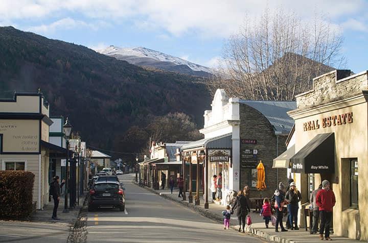 Arrowtown шахтерский поселок