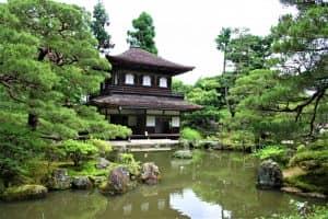 "Ginkakuji Temple - ""серебряный храм"""
