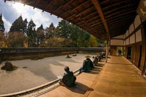Сад камней Ryoanji