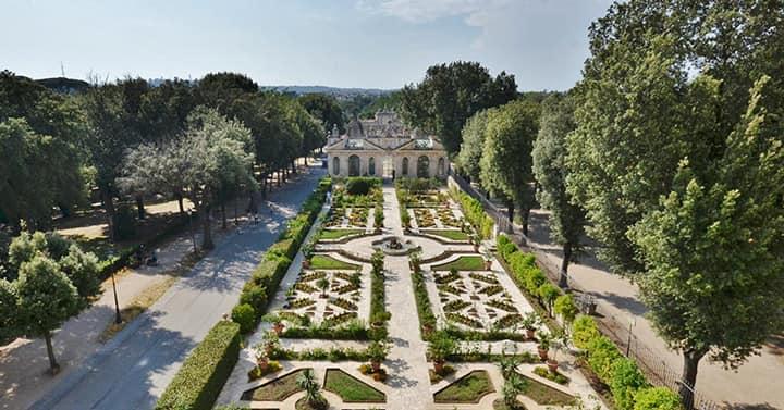 Парк Villa Borghese