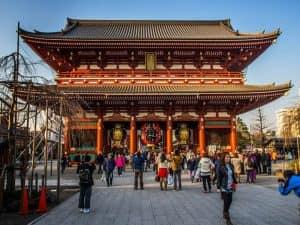 храм Sensoji