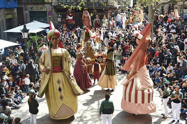 Фестиваль в Барселоне