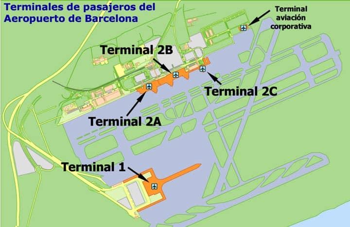 Схема терминалов