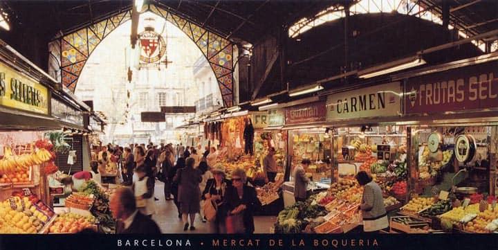 Рынок Mercat de la Boqueria