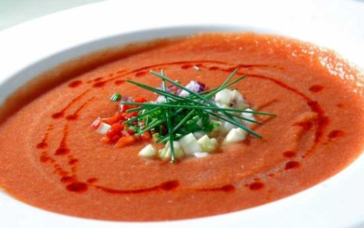 Холодный суп Gazpacho