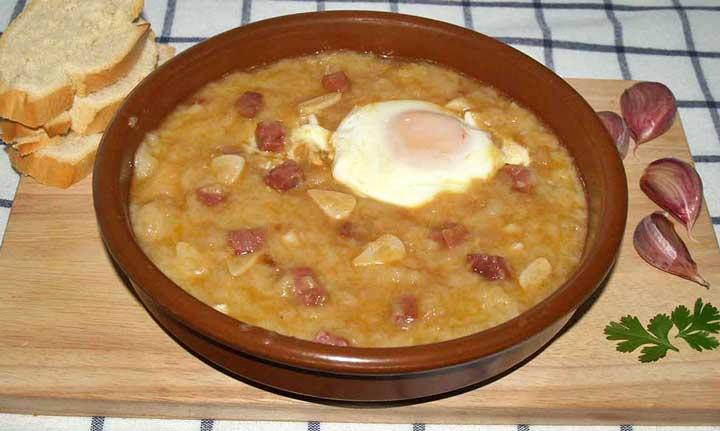 Sopa Castellana - чесночный суп