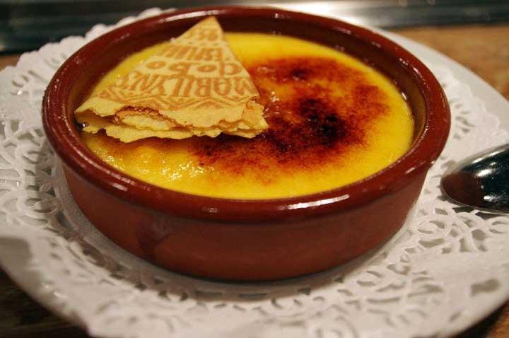 Crema Catalana - яичный крем