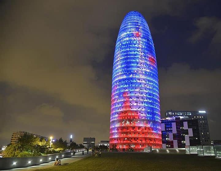 здание-башня Torre Agbar