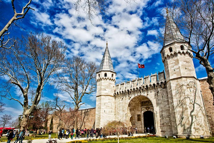 Дворец Топкапы Стамбул