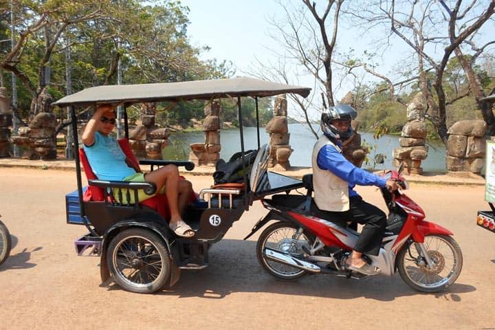 Тук-тук Камбоджа