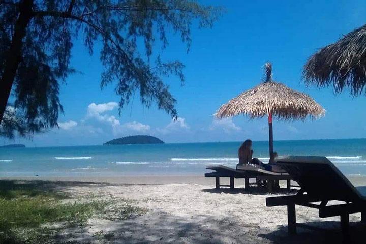 Пляж Otres beach