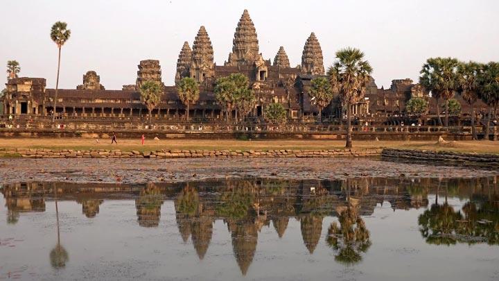 Заповедник Ангкор, Камбоджа