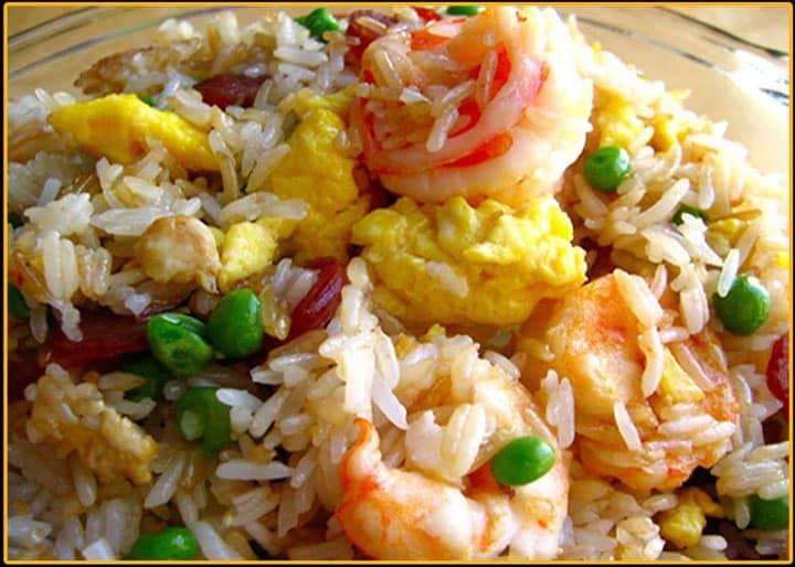 Bai Cha - жареный рис