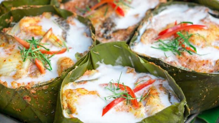 Fish Amok кари с рыбой