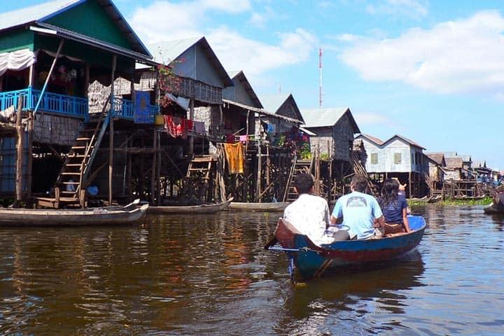 Круиз по озеру Tonle Sap