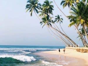 Пляж на Шри-Ланке