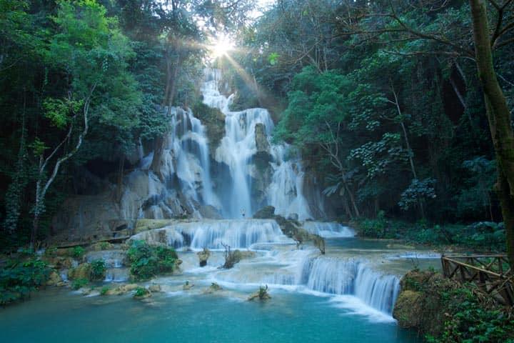 Ущелье 100 водопадов
