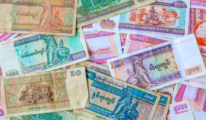 Валюта Мьянмы - кьят