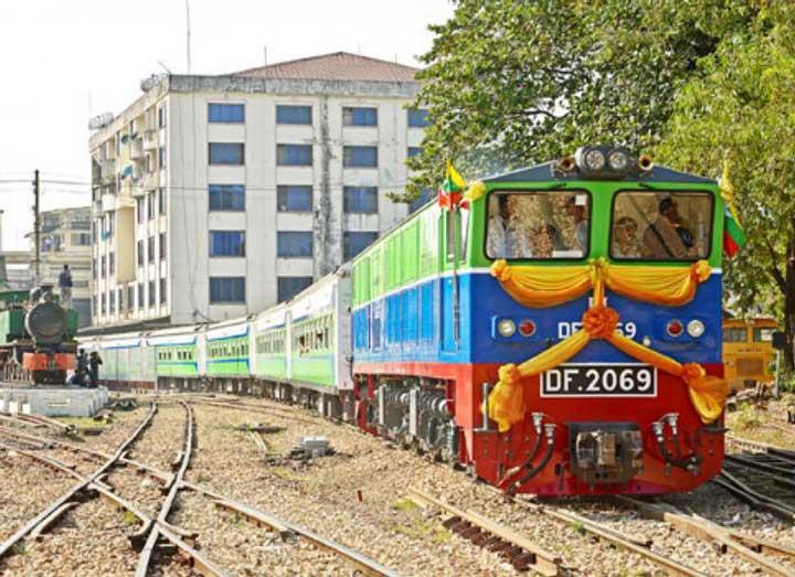 Поезда Мьянма