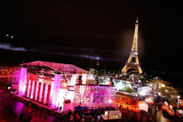 Фестиваль музыки в Париже