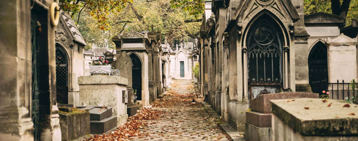 Кладбище Pere Lachaise