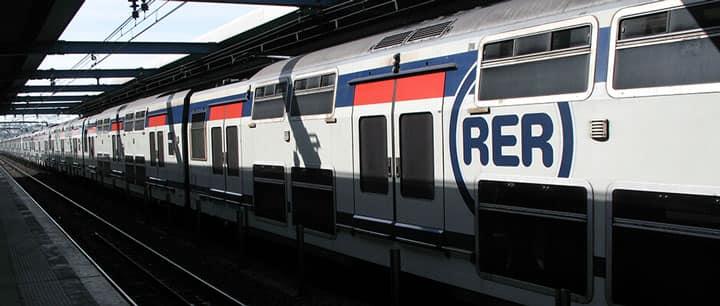 RER - пригородные поезда