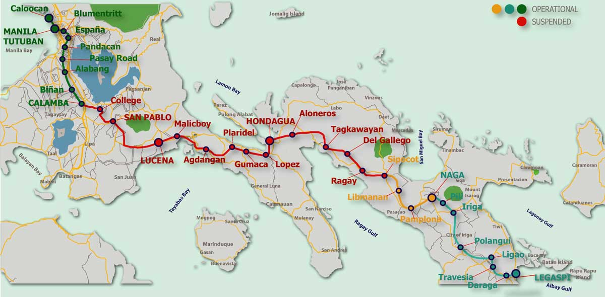Железная дорога Филиппины