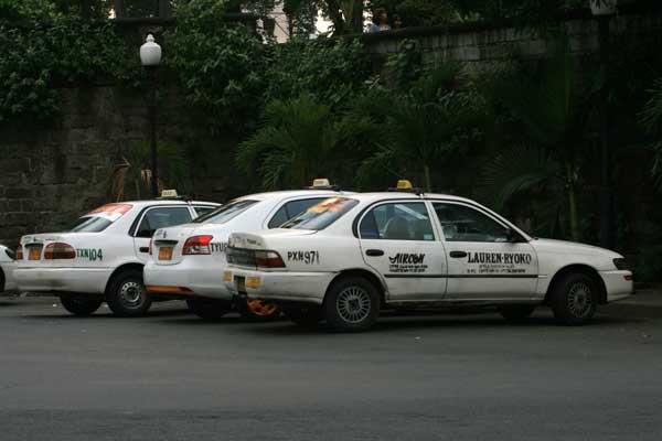 Белое такси Манила