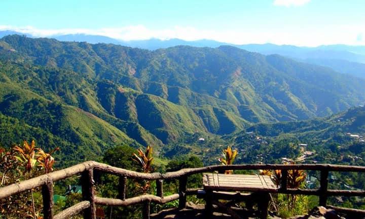Baguio вид на долину