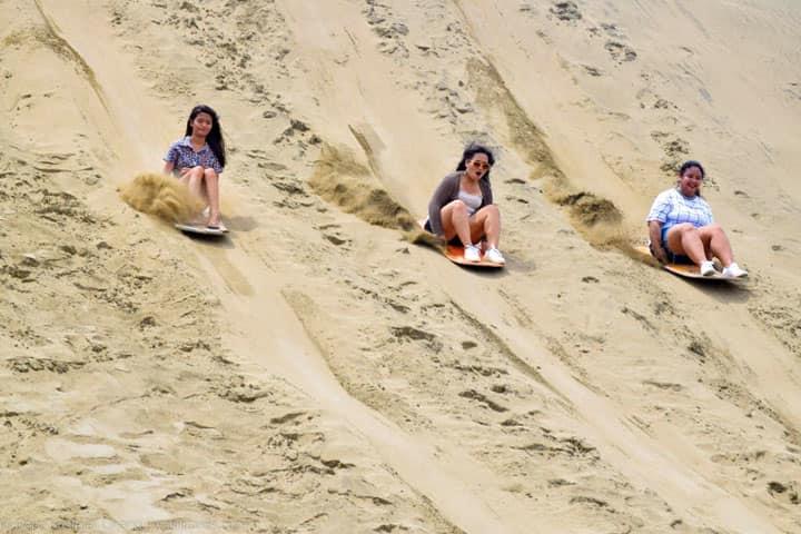 Город Лаоаг песчаные дюны