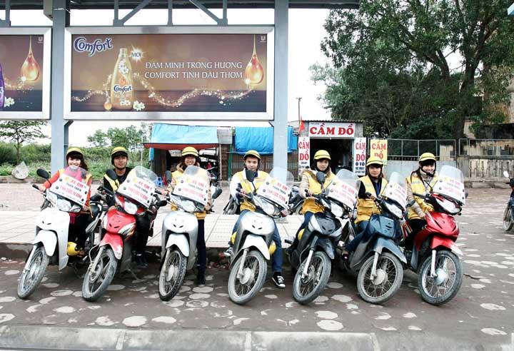 мототакси Вьетнам