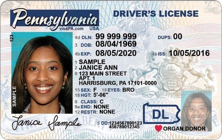 Лицензия на вождение США