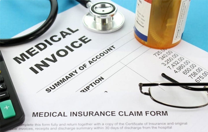 Счет за медицинское обслуживание